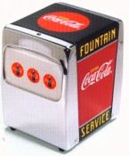 Coca Cola Kitchen Napkin Holder
