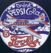 Pepsi Cola Signs Enamel
