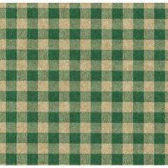Green Gingham on Kraft Tissue Paper - 120 Sheets