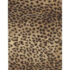 Leopard Hide Heavy Gift Wrapping Paper - Two 6 Ft Sheets