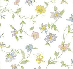 Pastel Wildflowers Tissue Paper - Ten Sheets