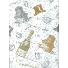 Wedding Tissue Paper - 120 Sheets