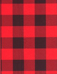 Red Lumberjack Buffalo Plaid Tissue Paper - 20 Sheets