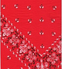 Red Bandana Tissue Paper - 120 Sheets