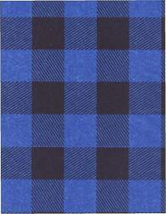 Blue Lumberjack Buffalo Plaid Tissue Paper - 20 Sheets