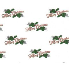 Christmas Greeting Tissue Paper - 120 Sheets