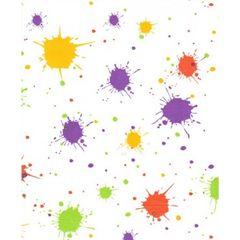 Splatter Paint Ball Tissue Paper - 240 Sheets