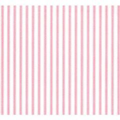 Pale Pink Ticking Tissue Paper - 120 Sheets