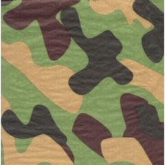 Camouflage Tissue Paper - 120 Sheets