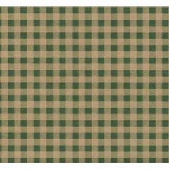 Green Gingham Gift Wrapping - 30 Ft Roll