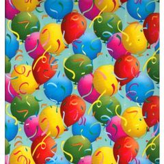 Party Balloons Birthday Gift Wrapping - 6 Ft Sheet