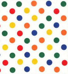 Primary Dots Tissue Paper - Ten Sheets
