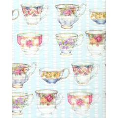 Old English Tea Cups Tissue Paper - 120 Sheets
