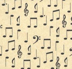 Symphony Music Tissue Paper - Ten Sheets