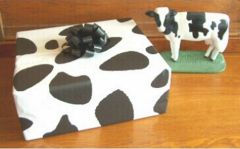 Black Cow Tissue Paper - Twenty Sheets