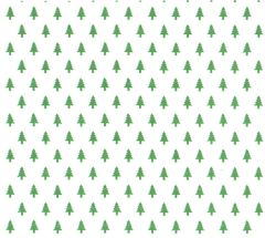Little Christmas Trees Tissue Paper- 10 Sheets