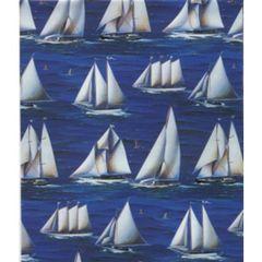 Sailboat Gift Wrapping - 6 Ft Sheet