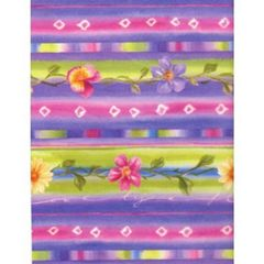 Hawaiian Floral Tissue Paper - 120 Sheets