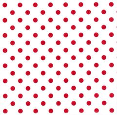 Red Polka Dots Heavy Gift Wrapping - 100 Ft Roll