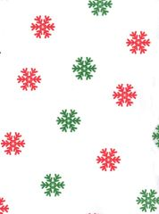 Christmas Snowflakes Red & Green - 120 Sheets