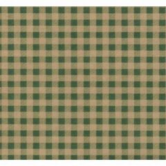 Green Gingham Gift Wrapping - 6 Ft Sheet