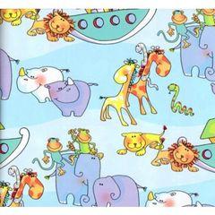 Noah's Arc Childrens Gift Wrap - 6 Foot Sheet