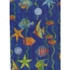 Tropical Fish Tissue Paper - Ten Sheets