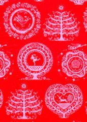 Lapland Red Christmas Tissue Paper - 120 Sheets