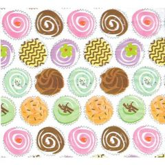 Party Cupcakes Tissue Paper - 120 Sheets