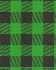 Green Lumberjack Buffalo Plaid Tissue Paper -120 Sheets