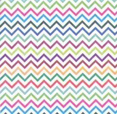 Zig Zag Tissue Paper - 240 Sheets