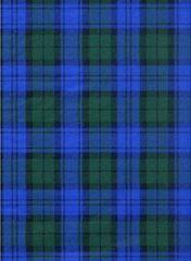 Blue Green Tartan Plaid Tissue Paper - Ten Sheets