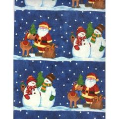 Snow Pals Embossed Gift Wrapping Paper - 30 Ft Roll