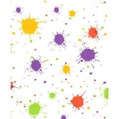 Splatter Paint Ball Tissue Paper - 20 Sheets