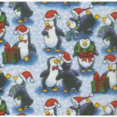 Penguin Pals Christmas Gift Tissue Paper - 10 Sheets