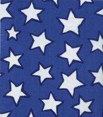 Blue Stars Tissue Paper - 20 Large Sheets