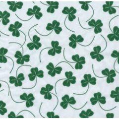 Shamrock Clover Tissue Paper - Ten Sheets