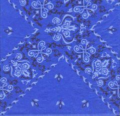 Blue Bandana Tissue Paper - 20 Folded Sheets