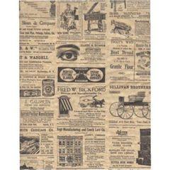 Modern Times Tissue Paper - Ten Sheets