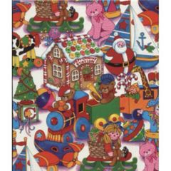 Peppermint Station Christmas Gift Wrapping Paper - 6 Ft Sheet