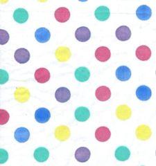 Pastel Polka Dot Tissue Paper - 120 Sheets