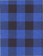 Blue Lumberjack Buffalo Plaid Tissue Paper -240 Sheets