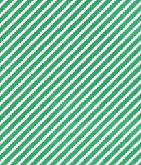 Green Candy Cane Stripe Christmas Tissue Paper - 30 Sheets