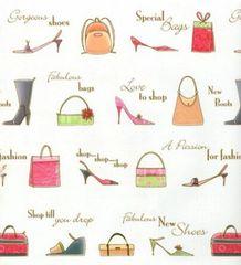Shop Till You Drop Gift Wrapping - 6 Ft Sheet
