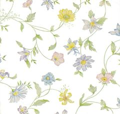 Pastel Wildflowers Tissue Paper - 120 Sheets