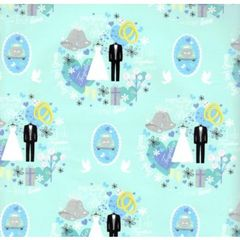 Wedding Gift Wrapping Paper - 30 Ft Roll