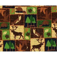 Northwoods Gift Wrapping - 6 Foot Sheet