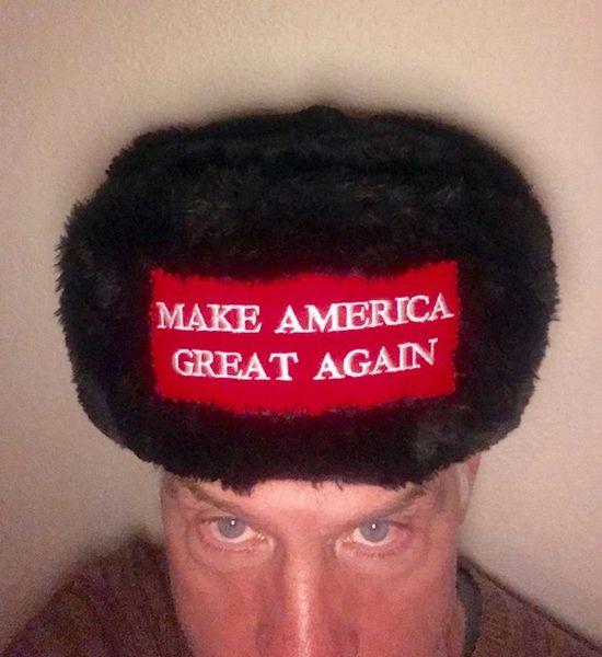 Russian Cossack Ushanka MAGA hat f5b143ac7ba