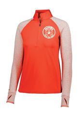 Running Dog Ladies 1/2 Zip Pullover
