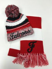 Field Falcons SALE - Pom Pom Hat and Scarf Combo Sale!